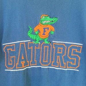 90s Florida Gators Football T-Shirt Embroidered